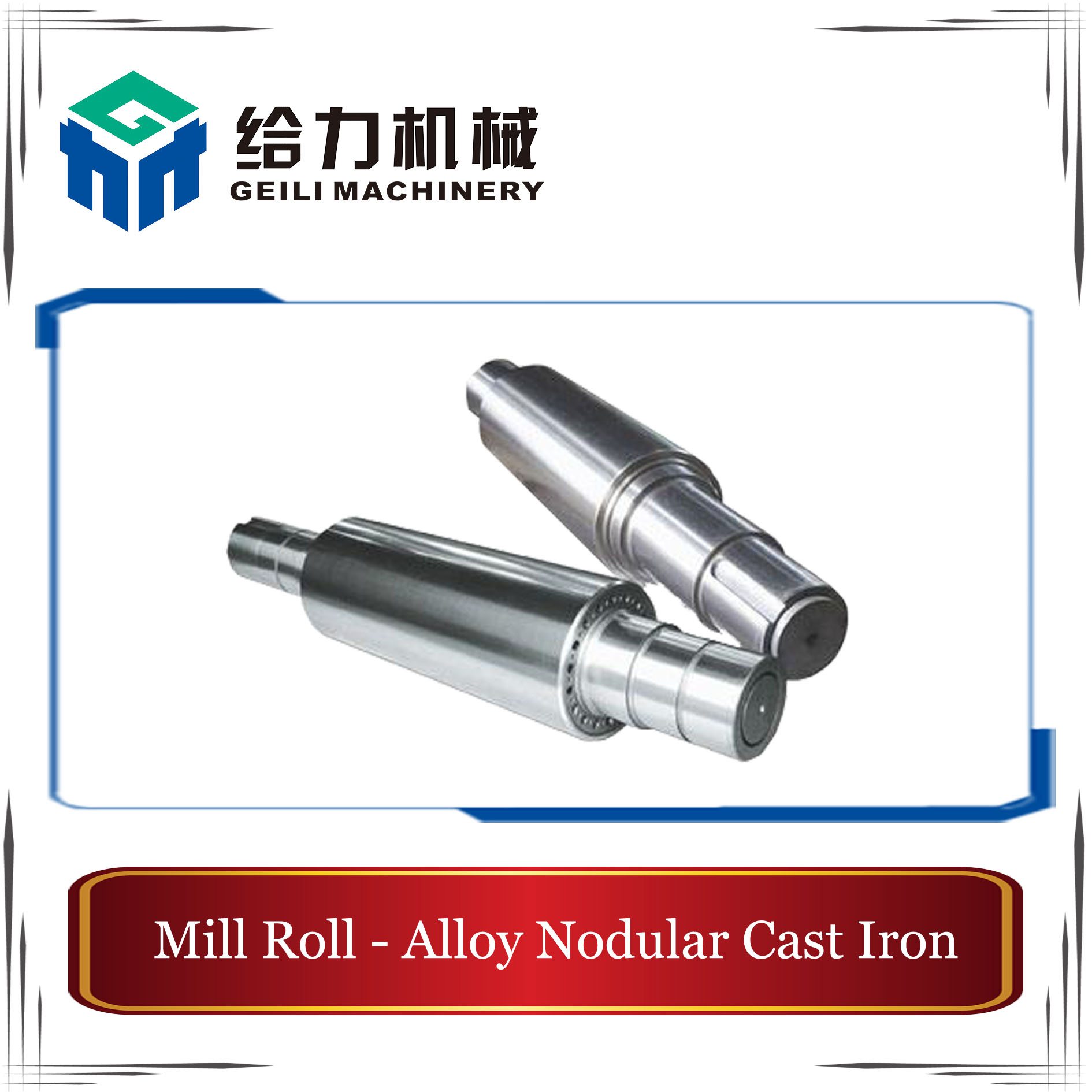 Alloy Nondular Casts Iron Rolls