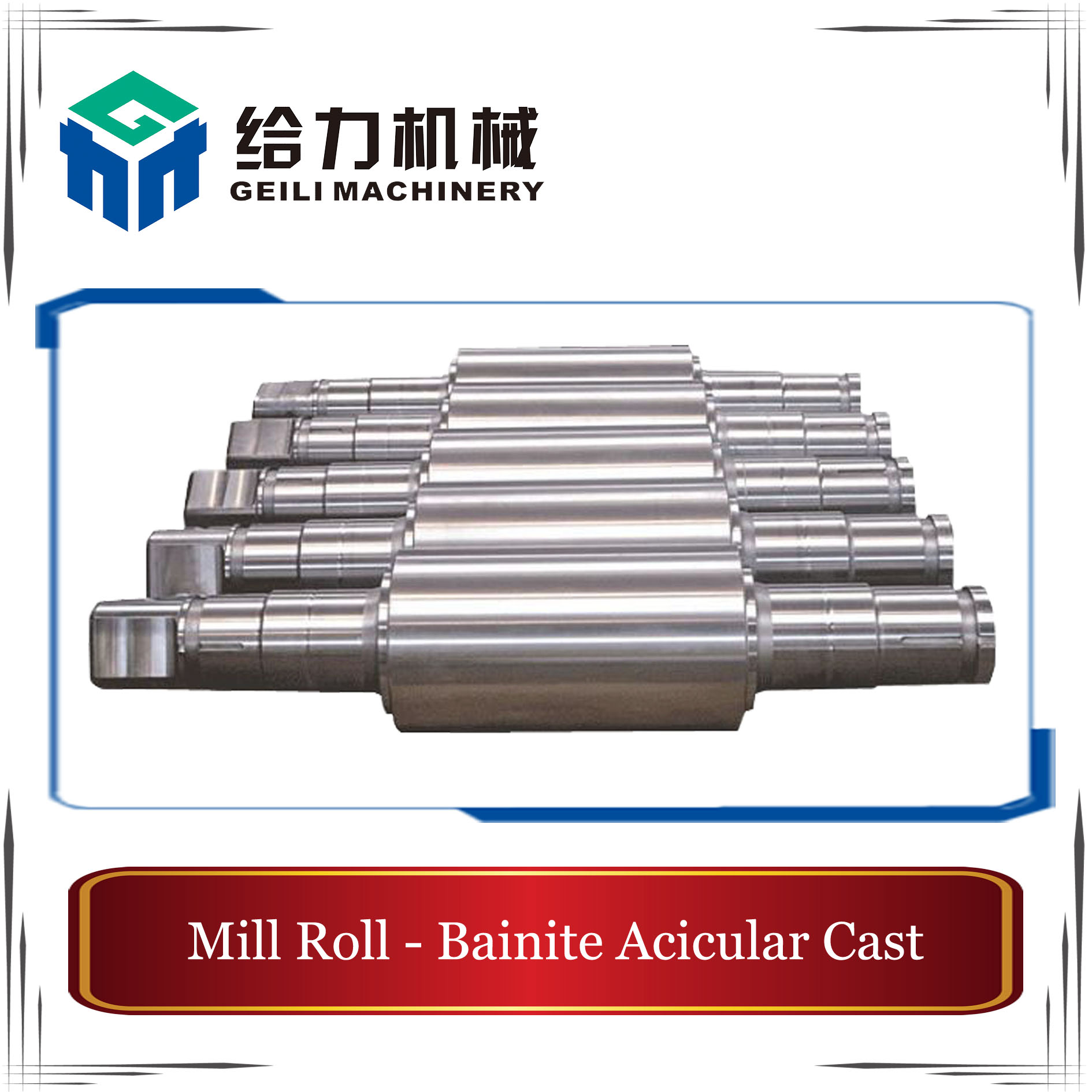 Bainite Acicular Cast Roll