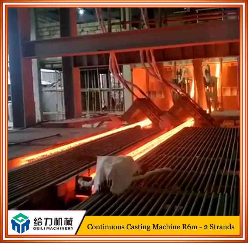 2 Strands Horizontal Continuous Casting Machine