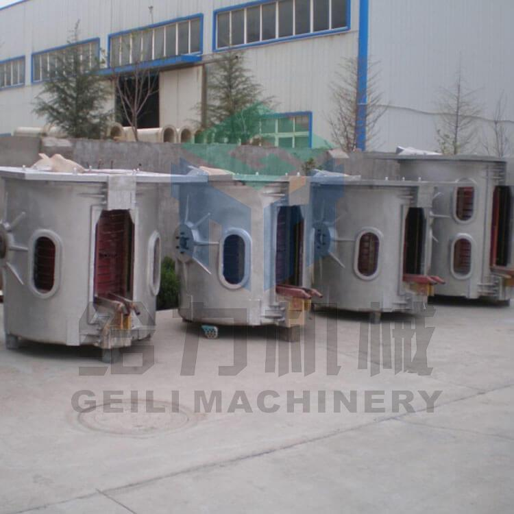 Electric Induction Furnace for Steel Melting